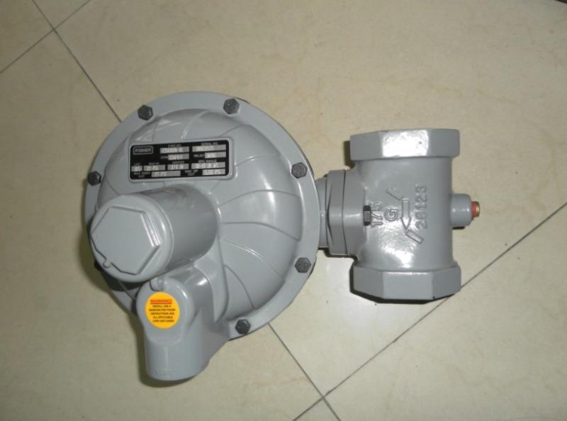 進口調壓器費希爾CS400天然氣減壓閥美國fisher