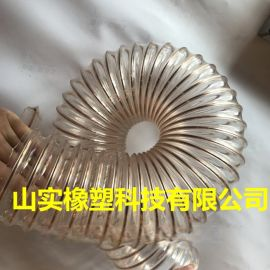 带钢丝软管,排气管带钢丝,镀铜钢丝软管,螺旋管厂家