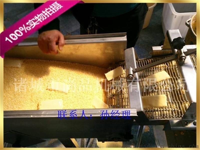 玉米饼裹浆机 玉米饼裹粉机 玉米饼裹面包糠机