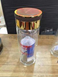 西安广告杯子制作玻璃杯子定制水晶杯制作