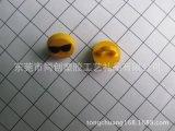 黑色眼镜笑脸表情系列笔铅笔笔套笔夹挂件加工生产