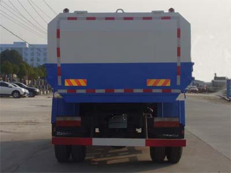 四轮自装卸式垃圾车|挂桶垃圾车|11方挂桶垃圾车