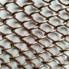 鋁合金小勾花網金屬網簾裝飾垂簾酒店大堂隔斷網