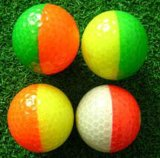 双色高爾夫熒光球