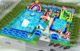 安徽蚌埠大城市广场支架水乐园经营相当有赚钱力量