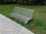 金属户外公园椅不锈钢户外休闲长椅景区公园椅