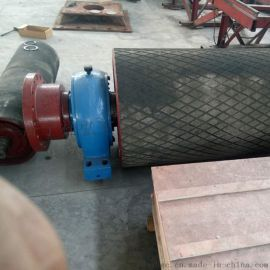 矿用阻燃包胶滚筒 甘肃皮带机包胶滚筒