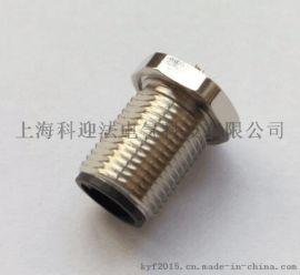 KYFM12-4针4孔法兰传感器插座