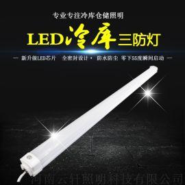 led冷库灯长条形三防灯40W防水低温车间灯