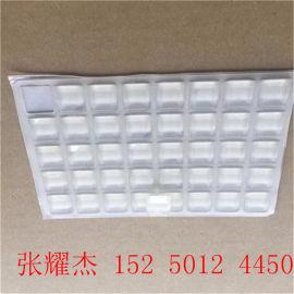 圆形透明脚垫、苏州止滑透明胶垫、白色玻璃 透明胶垫