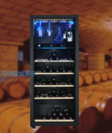 纯实木制造 深圳/红酒 葡萄酒展示柜制作厂家