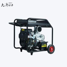 流动式大泽动力柴油高压自吸水泵6寸 TO60EW 高扬程抽水机 污水泵