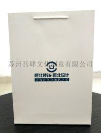 白卡覆膜工程装饰广告宣传袋