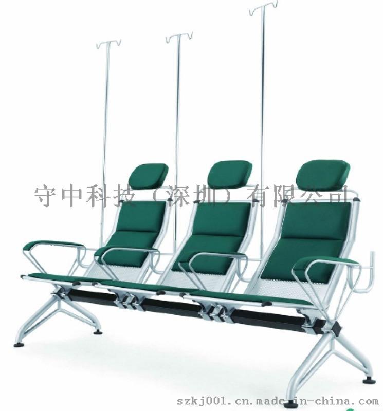 SYY001鋼製輸液椅廠家*三人輸液椅品牌/圖片
