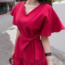 台绣广州品牌女装折扣批发 成都折扣女装货源尾货紫色小西装