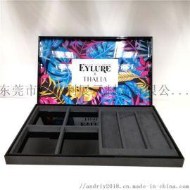 亚克力化妆品礼盒、节日限量版包装盒