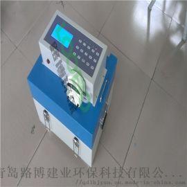 河南环境监测站使用LB-8000G便携式水质采样器