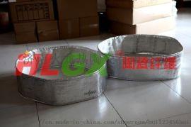 厂家可定制陶瓷纤维管道保温材料,可拆卸保温套