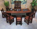 老船木茶桌中式功夫茶台茶几实木椅子家具