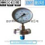 西安鑫仪直销不锈钢隔膜压力表