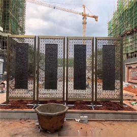 酒店大堂不锈钢隔断屏风花格焊接不锈钢屏风生产厂家
