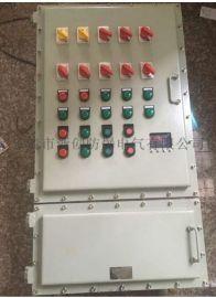 厂家直销定做防爆落地柜BXMD51防爆控制柜