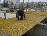 橫向格柵介紹 玻璃鋼加厚格柵板 防腐格柵池