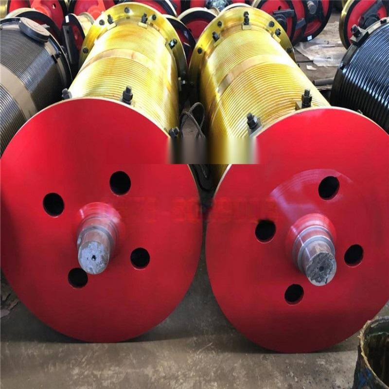 各种规格卷筒组 加工定制钢丝绳卷筒组钢板卷制卷筒组