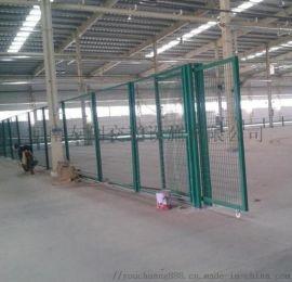 工厂设备移动钢丝防护网 车间隔断铁丝网 车间隔离网
