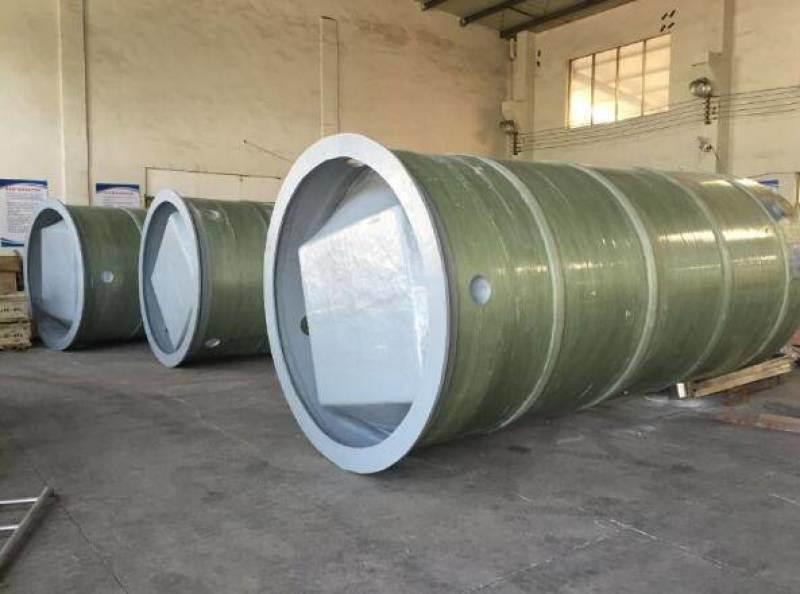 玻璃鋼臥式污水提升泵站