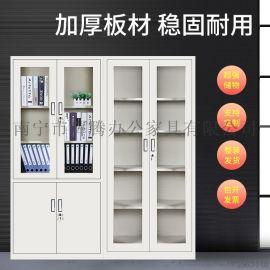 广西厂家文件柜更衣柜办公柜玻璃柜