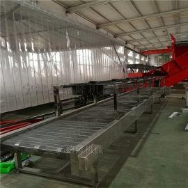 宁津厂家供应不锈钢耐高温链网输送机食品厂用输送机