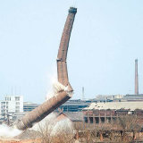 人工烟囱拆除工程 烟囱防腐工程