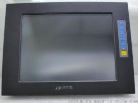 12.1寸铝合金外壳精密电容工业触摸屏显示器 1024*768 4:3 表面防水 USB 输入 VGA HDMI 直流12 V输入