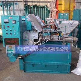 江西大型商用100型山茶油压榨机培训指导