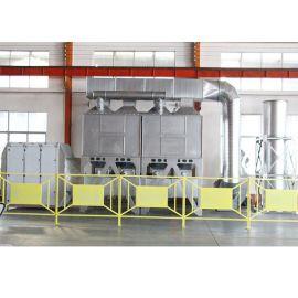 催化燃烧系统处理油缸喷漆废气  焚烧废气设备嘉特纬德