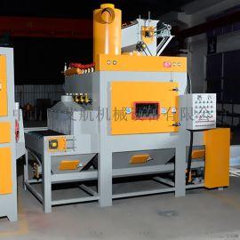 中山喷砂机厂家,铝塑板表面处理自动喷砂机