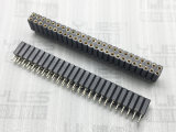 278-2.54mm 圓孔排母連接器 180度