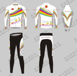 夏季爆款骑行服短袖套装个性定制自行车服