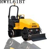 推铲压路机用于压实施工中,进行小面积摊铺、铲平的辅助施工RWYL61BT路得威 价格可议