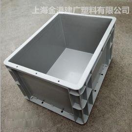 EU塑料物流箱 ,塑料周轉箱 ,底部加強筋箱