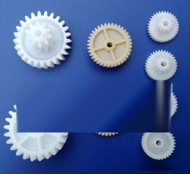 供应塑料齿轮 打印机齿轮 秦硕精密塑胶斜齿轮订做 东莞秦硕齿轮