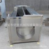 廠家直供毛輥洋芋毛刷清洗機 辣椒清洗機可定製包郵不鏽鋼