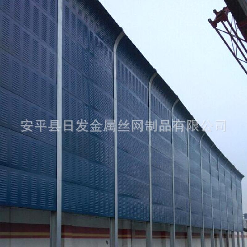 厂家直销 防水耐用小区声屏障 工厂车间屏障板 小区百叶声屏障