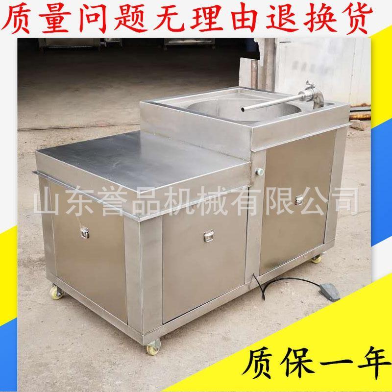 腊肠灌装机器 卧室液压香肠填充物灌肠机 单双料斗灌肠机包安装
