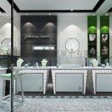 定制珠宝系列柜台,货架,不锈钢珠宝展柜、轻奢品货架