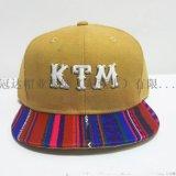 嘻哈棒球帽東莞平板大頭帽KTM明星純棉帽子定制