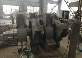 河南友邦数控立轴式板锤制砂机  破碎机生产厂家
