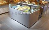 批发寿司展示柜 敞口寿司冷藏柜 定做寿司冰柜