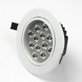 12W烤白漆LED天花射灯